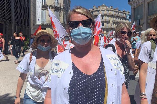 A Montpellier, Colombe est infirmière depuis 10 ans, son salaire est quasiment le même depuis le début de sa carrière - 30 juin 2020