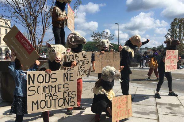 Manifestation du 1er mai 2021 à Bayonne.