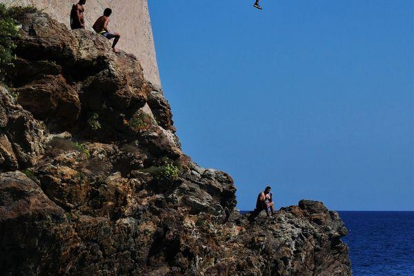 Les plongeurs de la Citadelle, à Bastia