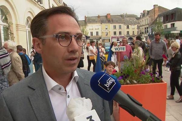 Nicolas Leudière élu maire de Sablé-sur-Sarthe