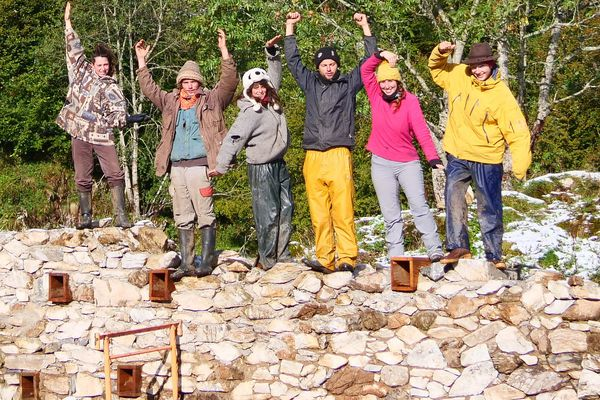 Les bergers ont entre 28 et 32 ans et plusieurs années d'expérience en estive.