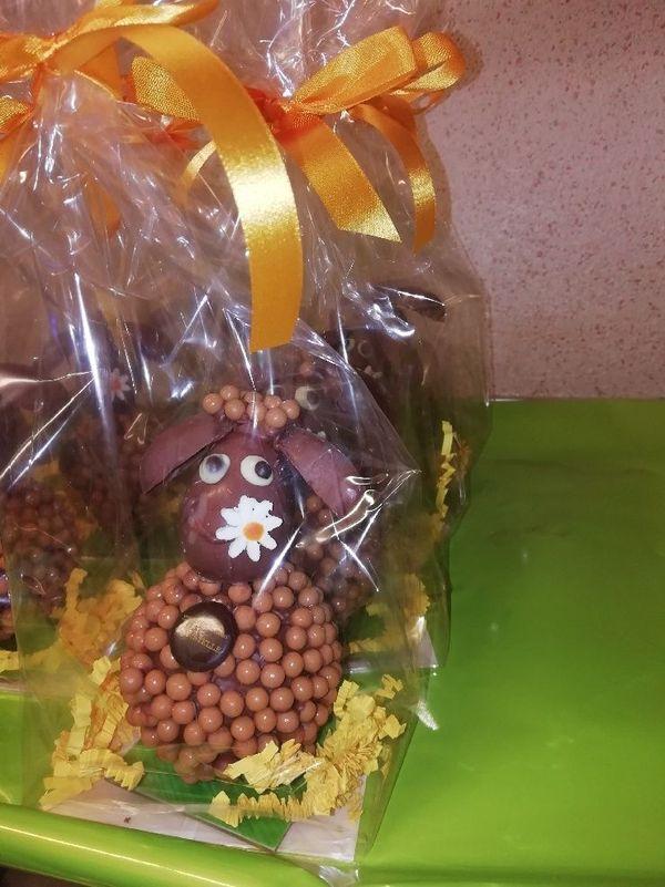 Lapins en chocolats, disponibles dans la boutique physique et virtuelle