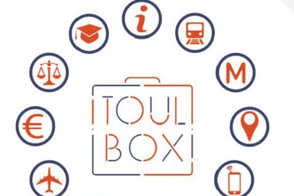 La Toul'box, une boîte à outils destinée aux étudiants pour faciliter leur arrivée.