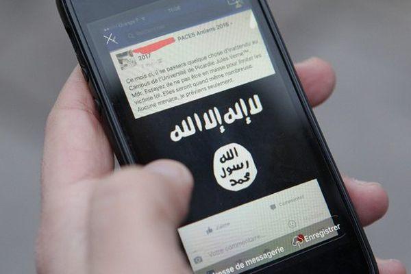 Il faisait de la propagande sur les réseaux sociaux (photo illustration)