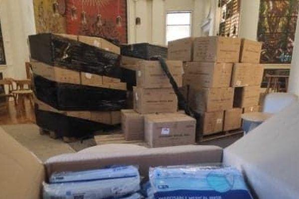 Arrivés hier et aussitôt distribués auprès des syndicats viticoles et ODG du bordelais qui font le relais avec leurs vignerons © CIVB