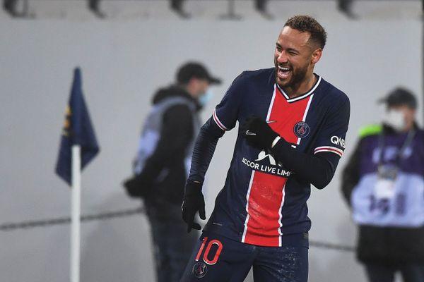 La star brésilienne du PSG, Neymar. Denis Charlet / AFP