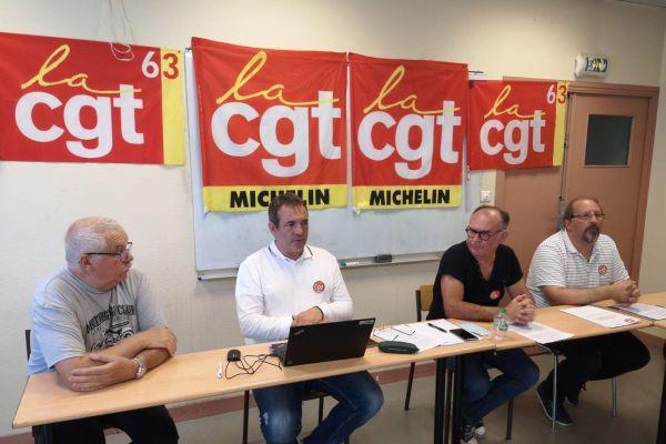 Une conférence de presse était organisée jeudi 9 juillet par le syndicat CGT Michelin, à Clermont-Ferrand, dans le Puy-de-Dôme. Le syndicat et plusieurs salariés ont dénoncé les conditions de travail et la mise en danger des soudeurs du site de la Combaude.