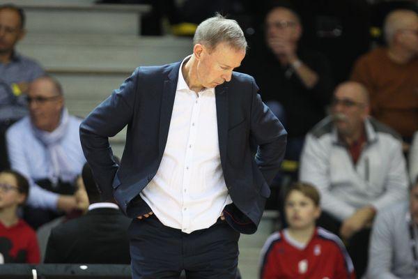 Vincent Collet, le coach historique de la SIG Strasbourg tire sa révérence