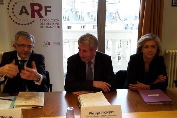 Philippe Richert à l'Association des régions de France