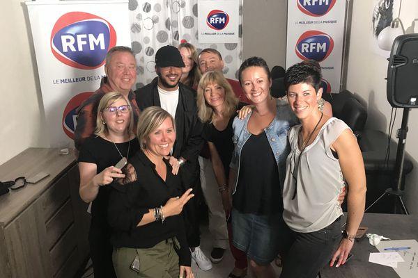 RFM organisera un nouveau concours avec une autre star la semaine prochaine / Reims, le 22 mai 2018