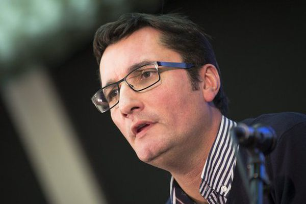 Olivier Dartigolles, porte-parole du Parti Communiste
