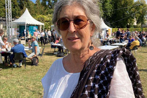 Jeanne Meunier, conseillère fédérale EELV en PACA, participe aux Journées d'été des écologistes, vendredi 20 août 2021.