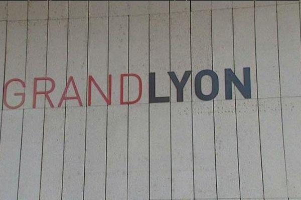 """""""Grand Lyon"""" : la mention """"communauté urbaine"""" a disparu ...."""