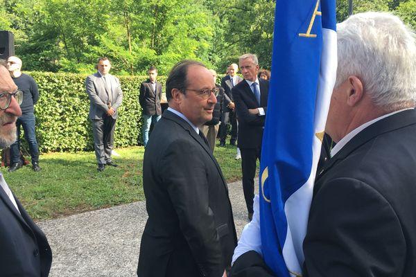 Comme chaque année, et malgré le Covid-19, François Hollande a participé aux commémorations.