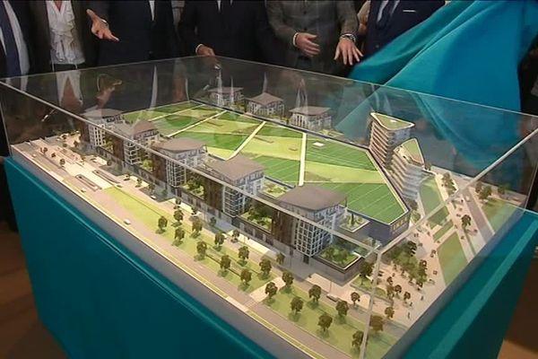 Le projet concu par l'architecte Jean-Michel Wilmotte.