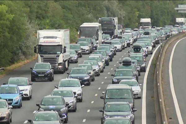 La circulation est fortement perturbée. Photo d'illustration.