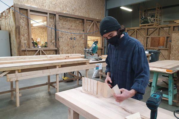 L'atelier partagé de Comme un établi s'étend sur 1200 mètres carrés.