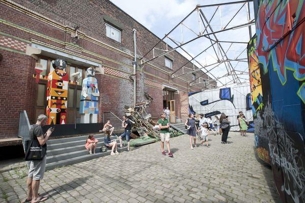 Une exposition organisée en 2017 à la Condition Publique, à Roubaix.