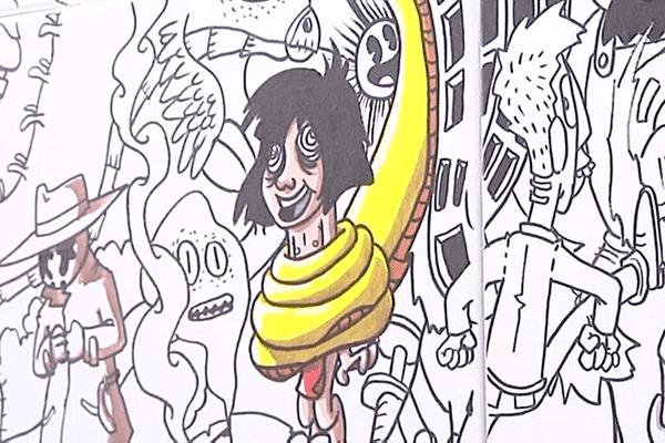 Expo - Yann Le Borgne présente Big Doodle jusqu'au 27 janvier à l'Espace Diamant d'Ajaccio.