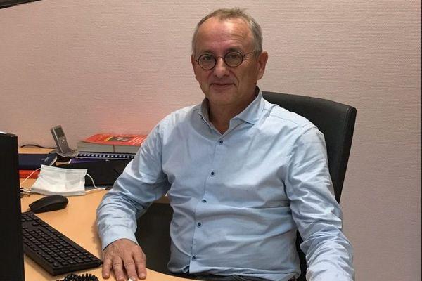 René Robert - chef du pôle urgences-réanimation-anesthésie du CHU de Poitiers