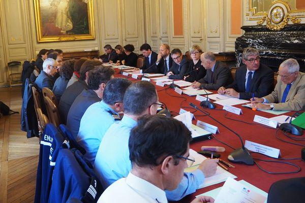 La réunion du Codaf s'est tenue aujourd'hui à la Préfecture de Poitiers
