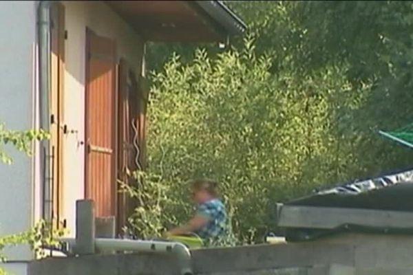 Murielle Bolle dans les Vosges (archives FTV).