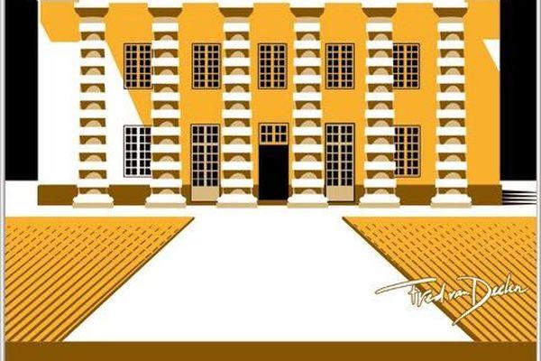 La Saline Royale est autant connue pour ses bâtiments que pour ses jardins.
