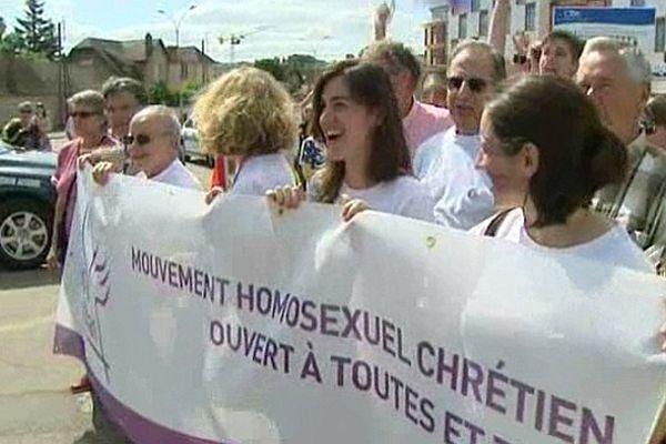 En Bourgogne, la première Marche des fiertés avait été organisée dans l'Yonne en juin 2012.