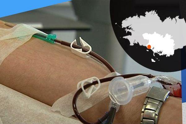 Un don du sang, plus impressionnant que douloureux