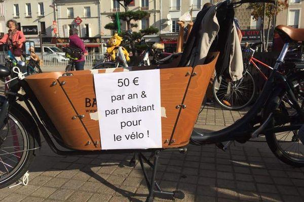 Les manceaux veulent une vraie politique en matière de pistes cyclables