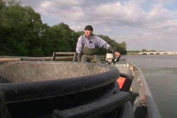 Pêcheur professionnel de Loire