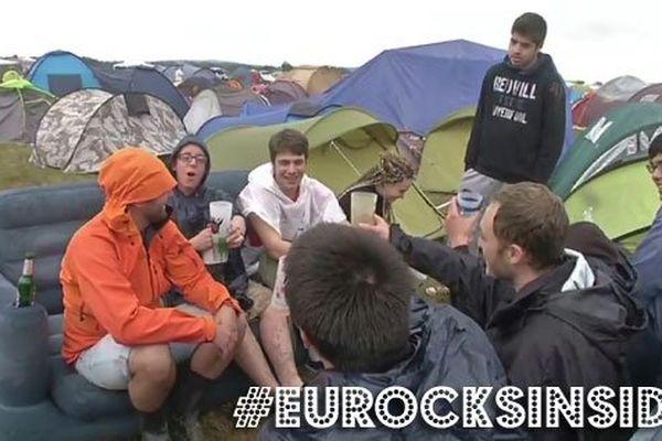Le camping des Eurocks passage obligé des festivaliers