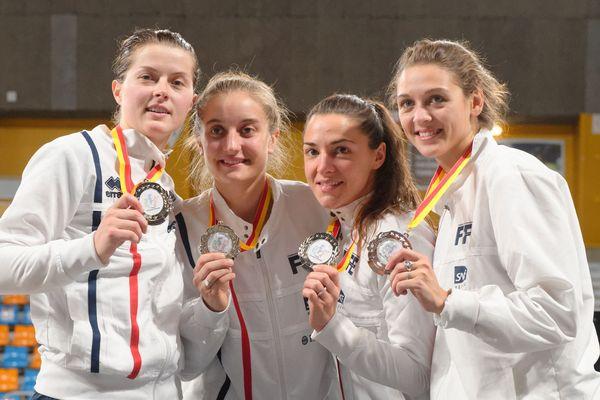 Coupe du monde de sabre dames à Orléans : les Françaises médaille d'argent par équipe