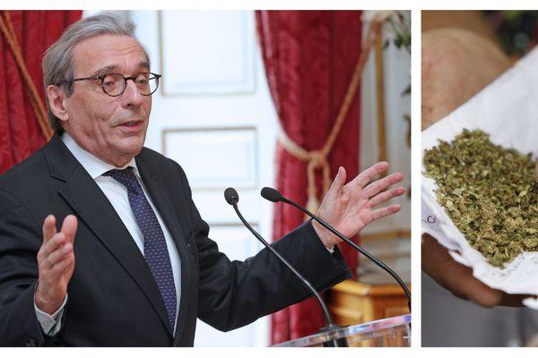 Roland Ries, le maire de Strasbourg, s'est prononcé en faveur du cannabis thérapeutique.
