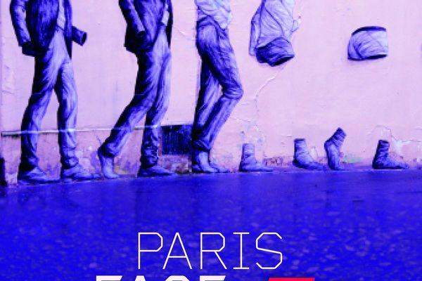 Paris Face Cachée, du 31 janvier au 2 février 2020, une affiche réalisée par Levalet