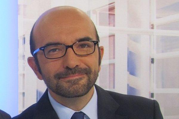 Patrick Noviello, présentateur de La Voix est Libre et animateur du débat sur les municipales