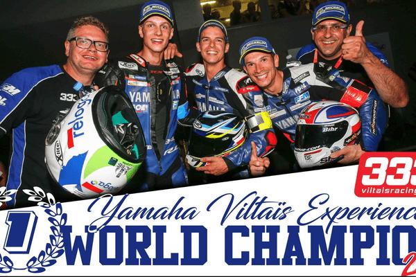 Dans la catégorie Superstock, la Coupe du monde a été attribuée à la Yamaha 333 Viltaïs Experiences.