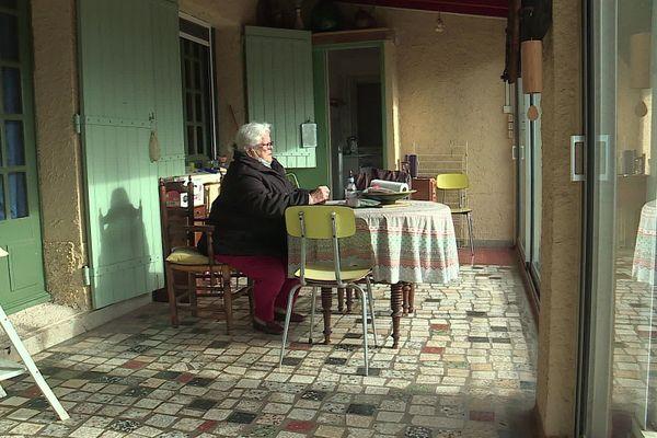 Martine Garofalo a récupéré l'étage de sa maison et attend que son locataire quitte définitivement les lieux ce mercredi.