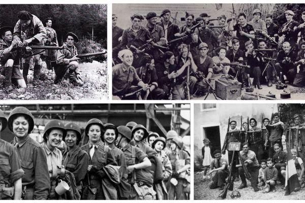 Des résistants Français lors de la seconde guerre mondiale