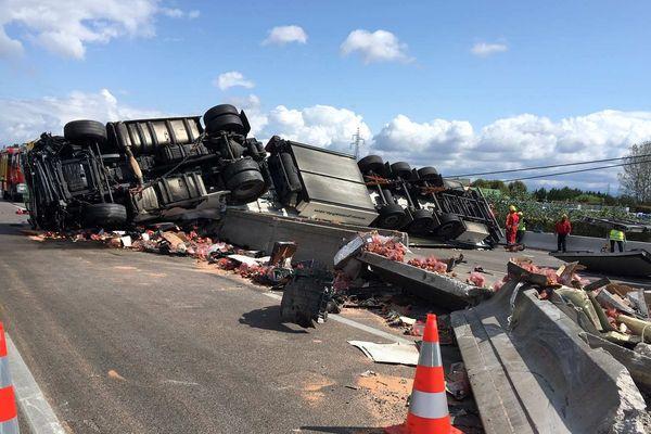 8 septembre 2019 : un accident mortel sur l'autoroute A7 dans la Drôme.