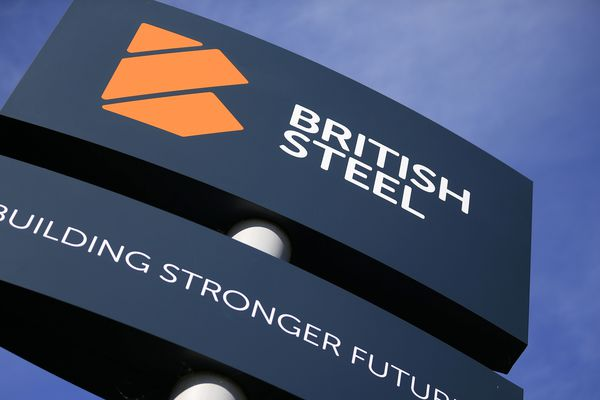Le logo de British Steel