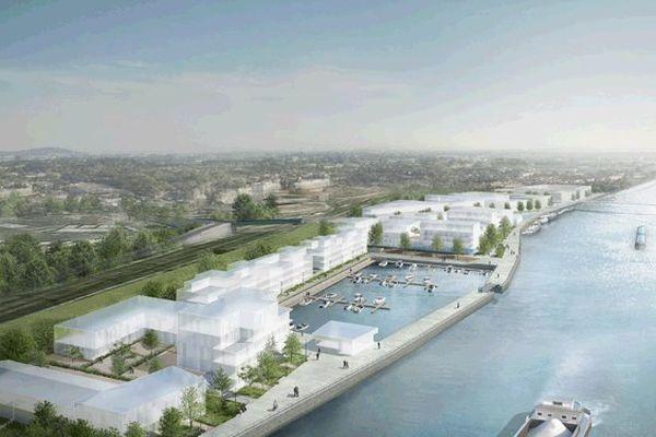 Le projet de port de plaisance de la ville de Creil