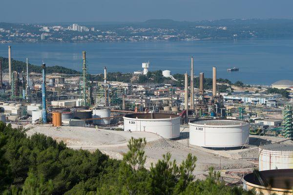 Les salariés de la raffinerie Total La Mède sont en grève depuis le 4 décembre.