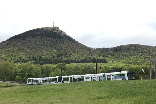 Dans le Puy-de-Dôme, le train du Panoramique des Dômes a repris du service ce vendredi 21 mai.