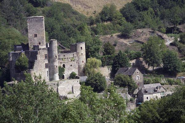 La château de Belcastel