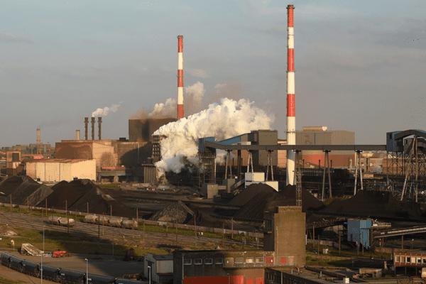 Le site Arcelor Mittal de Dunkerque