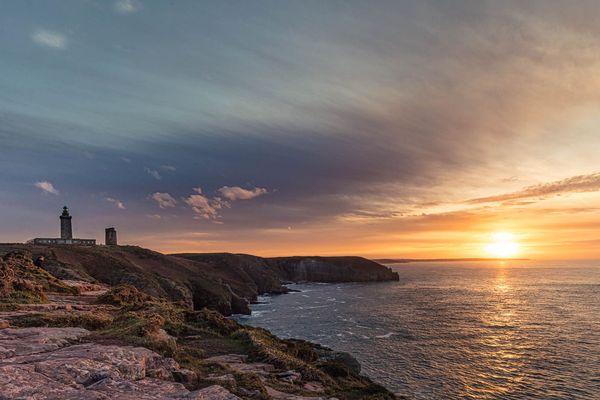 Coucher de soleil sur le Cap Fréhel (22)