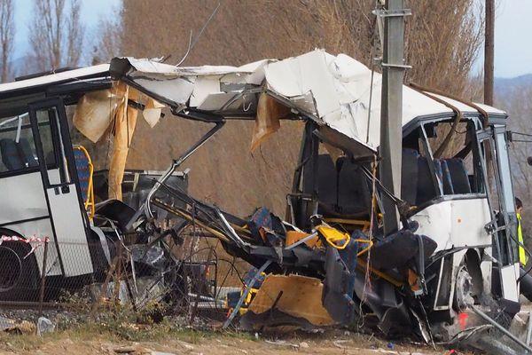 6 enfants sont décédés dans la collision en un train et un car scolaire le 14 décembre à Millas (66).