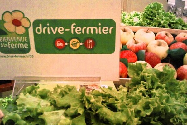 Le concept drive fermier a été présenté mardi 9 octobre.