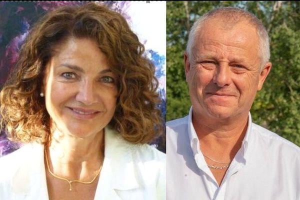 La candidate aux sénatoriales Joëlle Huth part en campagne avec son suppléant Alain Prevost